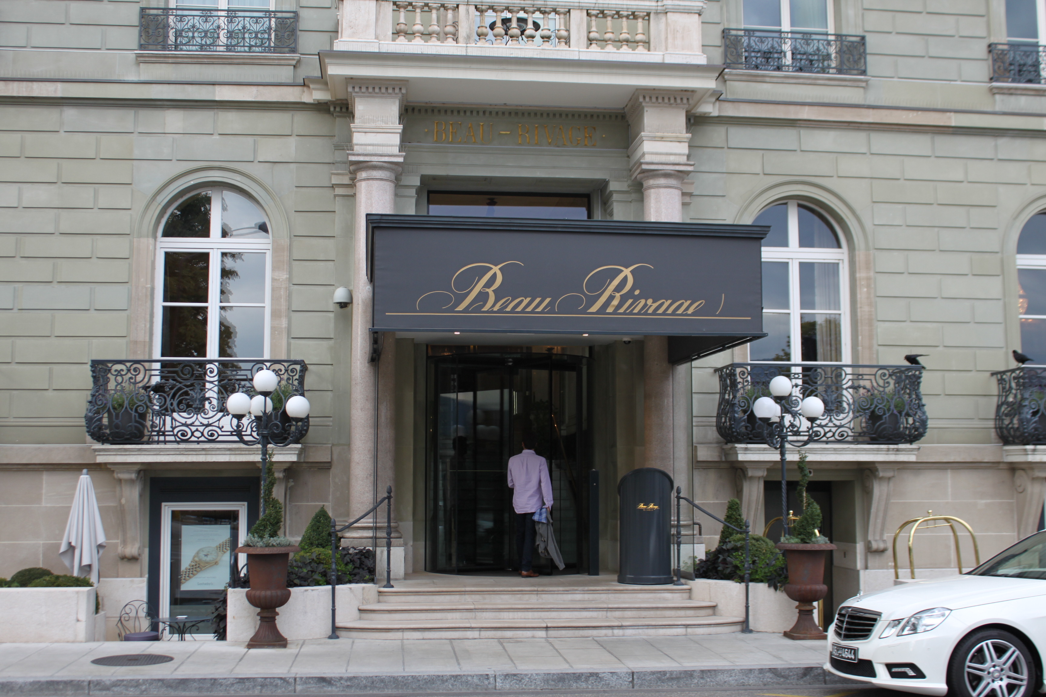 Hotel beau rivage a family affair in geneva sam and - Hotel beau rivage la cuisine ...